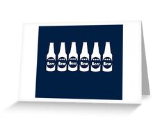Six Pack Beer - Bier T-Shirt - Fitness Drinking Abs Sticker Greeting Card