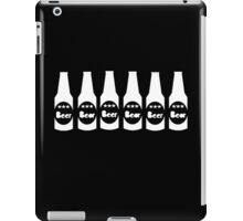 Six Pack Beer - Bier T-Shirt - Fitness Drinking Abs Sticker iPad Case/Skin