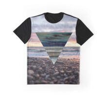 Sunset Triangle Graphic T-Shirt