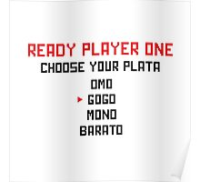 Choose your Plata Poster