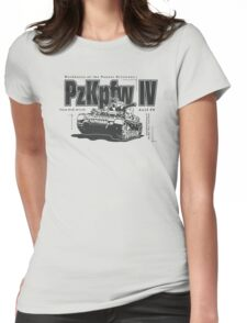 Panzer IV Womens Fitted T-Shirt