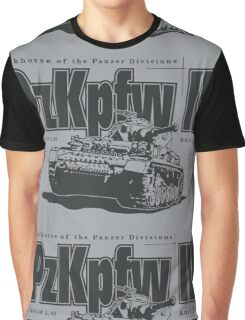 Panzer IV Graphic T-Shirt