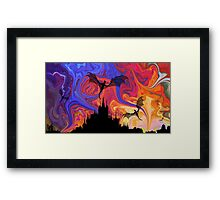 Dragons Night Framed Print