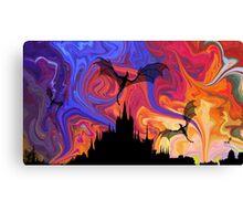 Dragons Night Canvas Print