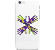 #DeepDream Painter's gloves 5x5K v1456325888 iPhone Case/Skin