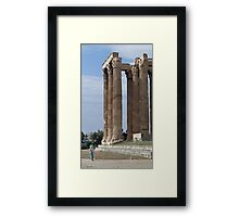 Encounter with an ancient wonder Framed Print