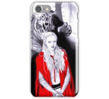 Everything a Big Bad Wolf could want iPhone Case/Skin