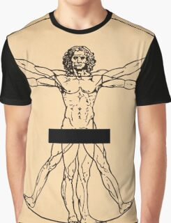 Vitruvian Man Graphic T-Shirt