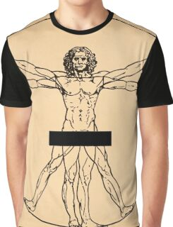 Vitruvian Man Graphic T-Shirt