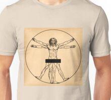 Vitruvian Man Unisex T-Shirt