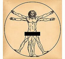 Vitruvian Man Photographic Print