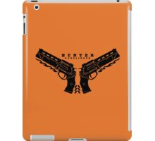 Hunter Gunslinger iPad Case/Skin
