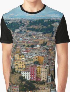 Naples panorama Graphic T-Shirt