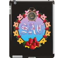 Sixties Daze Strawberry Fan iPad Case/Skin