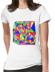 Colors & Angles  Womens Fitted T-Shirt