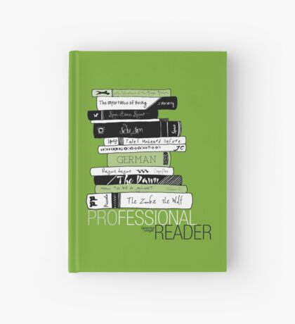 Professional Reader (Green) Hardcover Journal