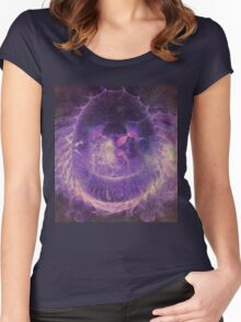 Brilliant Cosmic Butterfly  Women's Fitted Scoop T-Shirt