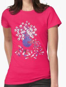 Monster Mushroom Womens Fitted T-Shirt