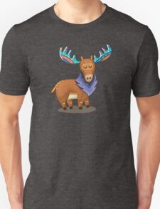 Rainbow Moose Unisex T-Shirt