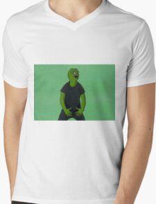 'Just Do It' Pepe Mens V-Neck T-Shirt