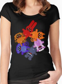 MUCKYPETS 3 Women's Fitted Scoop T-Shirt