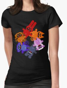 MUCKYPETS 3 Womens Fitted T-Shirt