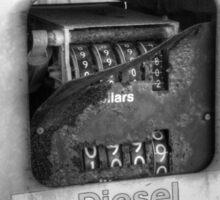 Rusty Diesel Sticker