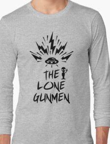 The Lone Gunmen Punk Rock Revival Long Sleeve T-Shirt