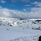Snow in the peak district by Avril Harris