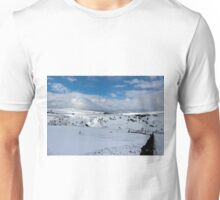 Snow in the peak district Unisex T-Shirt