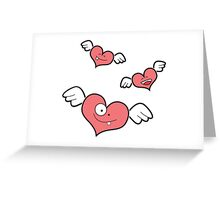 little heart monsters Greeting Card