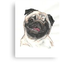 Puggy Person Canvas Print