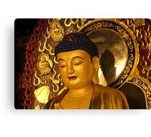 Asia Golden Buddha Canvas Print