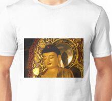 Asia Golden Buddha Unisex T-Shirt