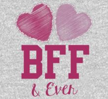 BFF & eva (Best friends forever and ever) Kids Tee