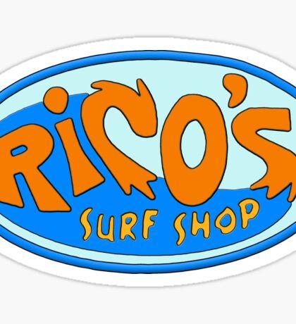 Rico's Surf Shop Sticker