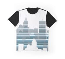 Indianapolis lines Graphic T-Shirt