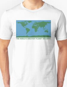 The World's Greatest Planet On Earth - ONE:Print Unisex T-Shirt