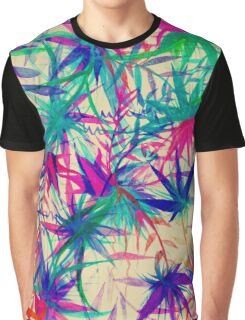 Tropical Jungle - a watercolor painting Graphic T-Shirt
