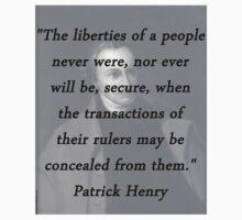 Henry - Liberties of People Baby Tee