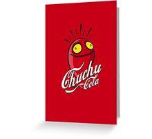 Chuchu Cola Greeting Card