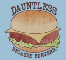 Dauntless - Because Burgers Kids Tee