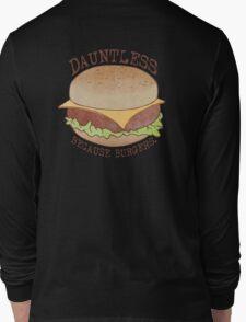 Dauntless - Because Burgers Long Sleeve T-Shirt