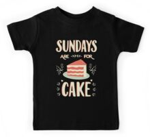 Sundays Are For Cake Kids Clothes