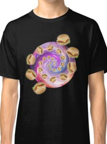 Spiral Galaxy of Burgers Classic T-Shirt