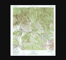 USGS TOPO Map Puerto Rico PR Penuelas 362190 1972 20000 Unisex T-Shirt