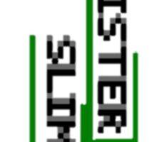 Mister Slime Simplistic Sticker