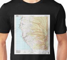 USGS TOPO Map Hawaii HI Lahaina 349517 1992 24000 Unisex T-Shirt