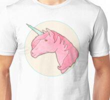 Be Yourself - Unicorn Pattern on Mint Unisex T-Shirt