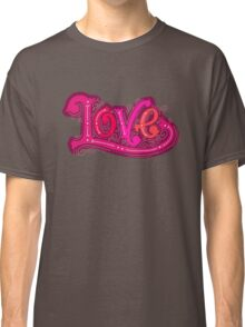 Love lettering Classic T-Shirt